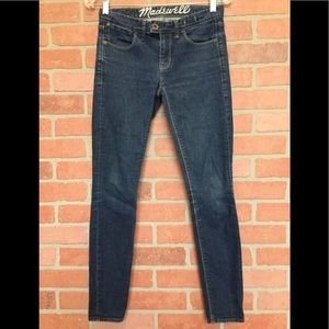 Madewell women's skinny jeans size 24 (4R60)